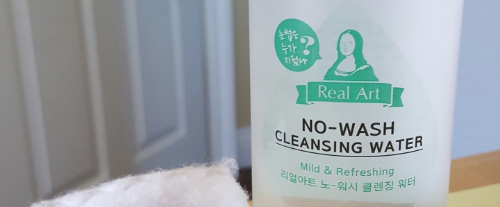 Etude House Real Art No-Wash Cleansing Water Review