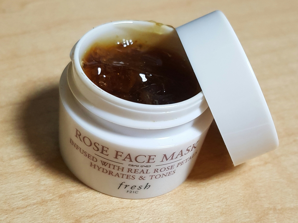 Fresh Rose Face Mask Review
