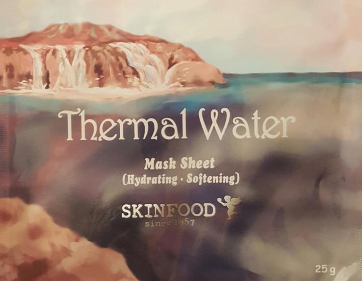 Skinfood Thermal Water Mask SheetReview