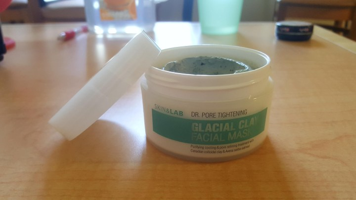 Skin&Lab Dr. Pore Tightening Glacial Clay Facial Mask Review