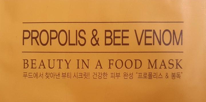 Skinfood Propolis & Bee Venom Face MaskReview