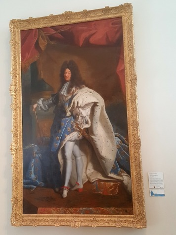 This here is a copy, but I've been lucky enough to see the original at Versailles!
