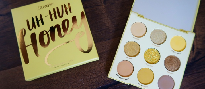 Colourpop Uh-huh Honey Palette Review + Swatches