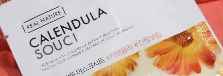 The Face Shop Real Nature Calendula Face Mask Review
