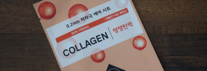 Etude House 0.2mm Therapy Air Mask Collagen Review