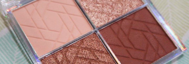 Sweet & Shimmer Eyeshadow Palette Review +Swatches